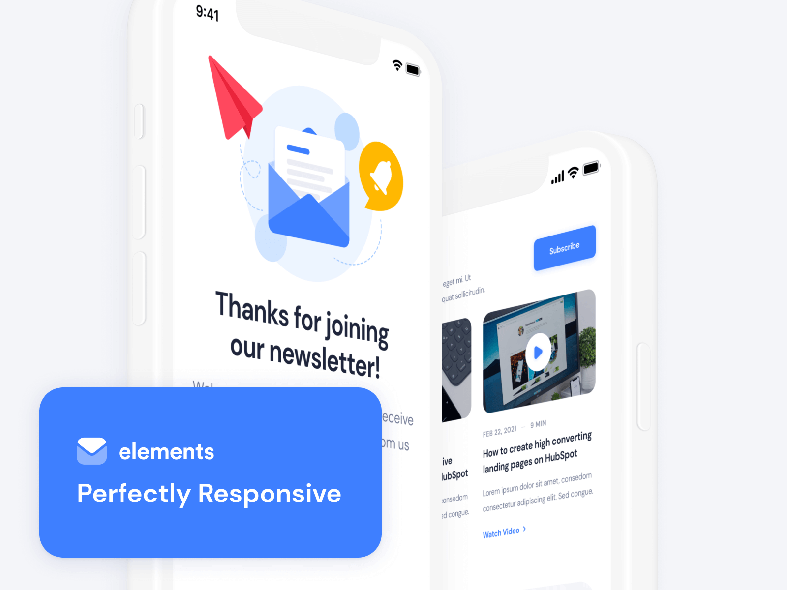 Elements - Responsive HubSpot Email Template