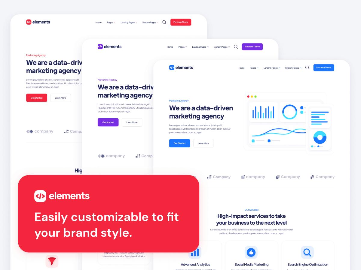 Customizable HubSpot Theme