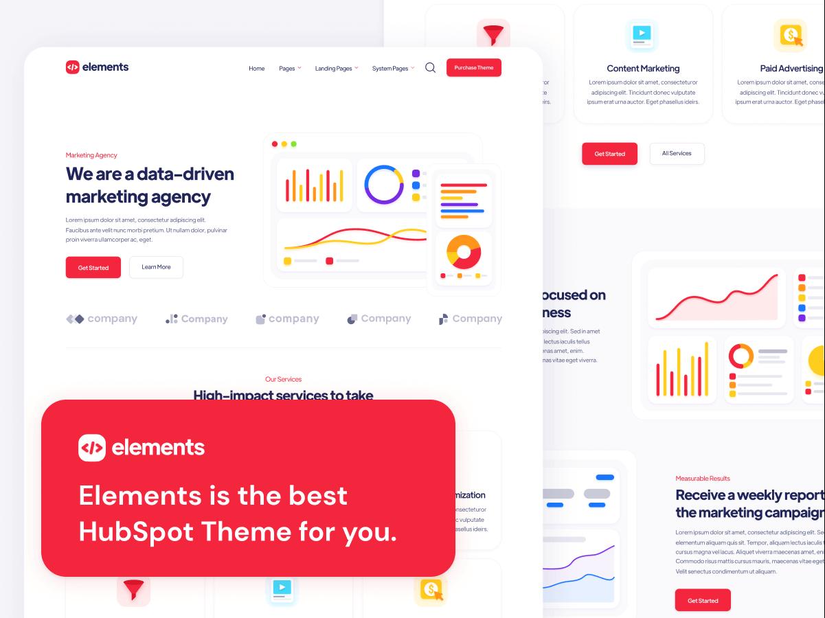 Elements HubSpot Theme