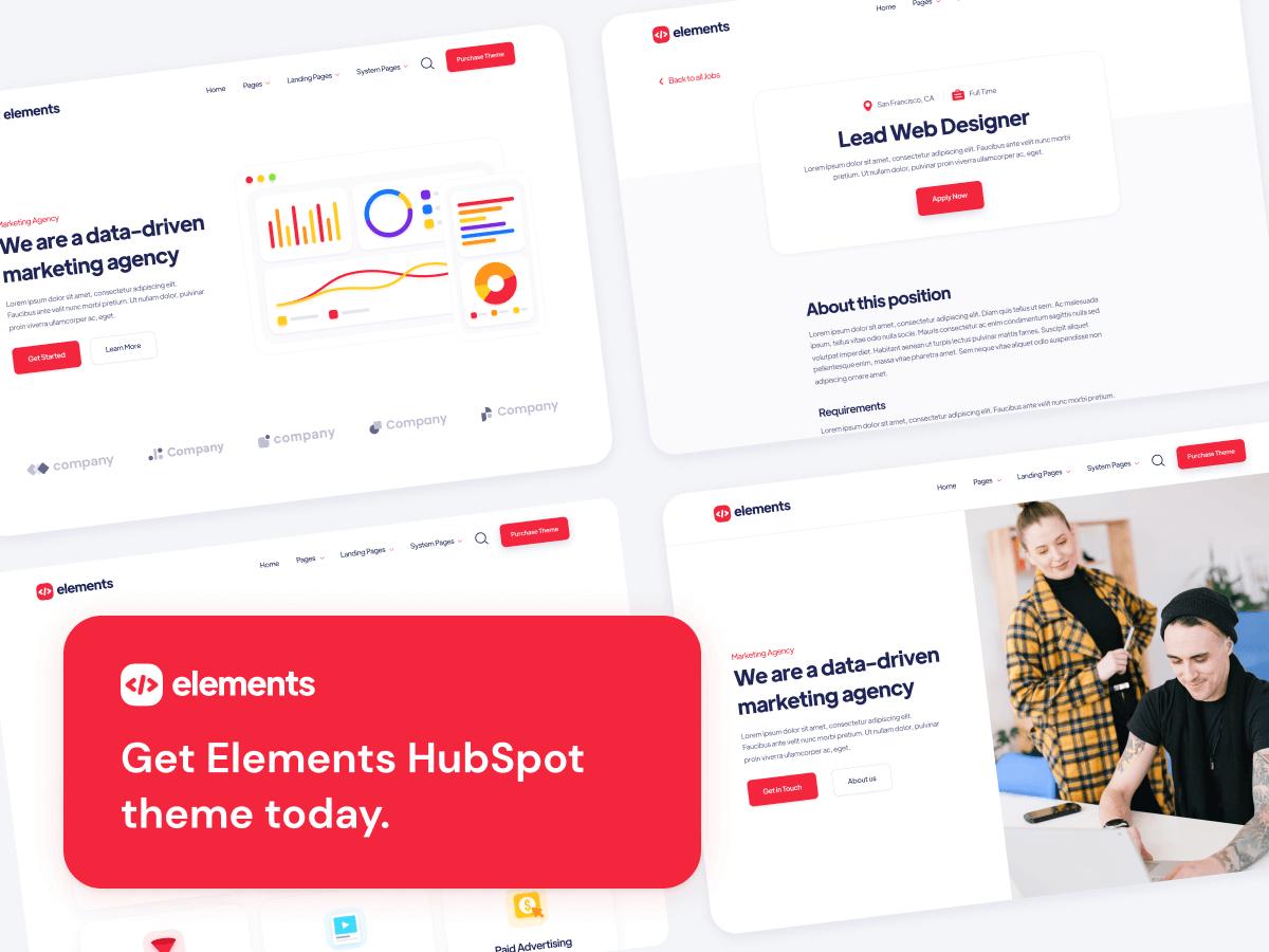 Premium HubSpot Theme